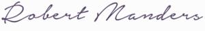 Robert Manders Handtekening